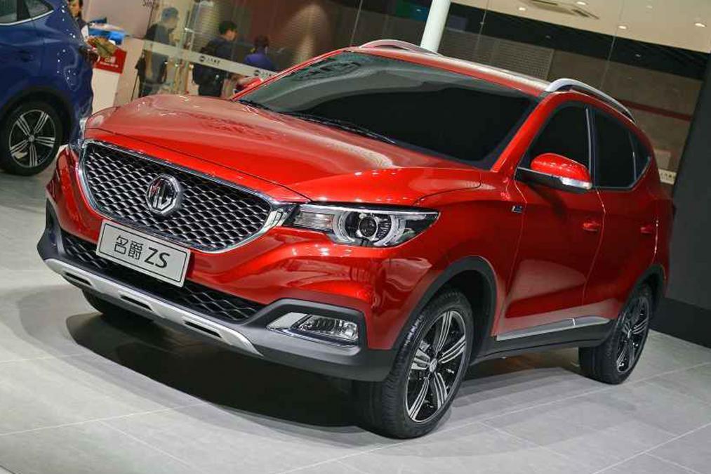 На китайском рынке стартуют продажи MG ZS