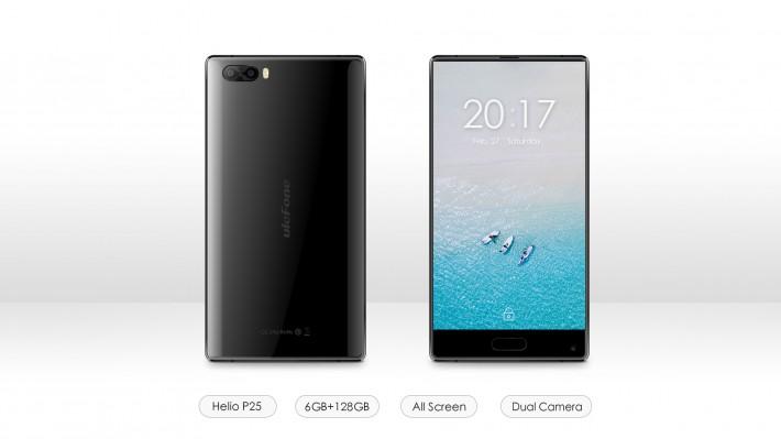Китайская компания представит безрамочный смартфон Ulefone F1