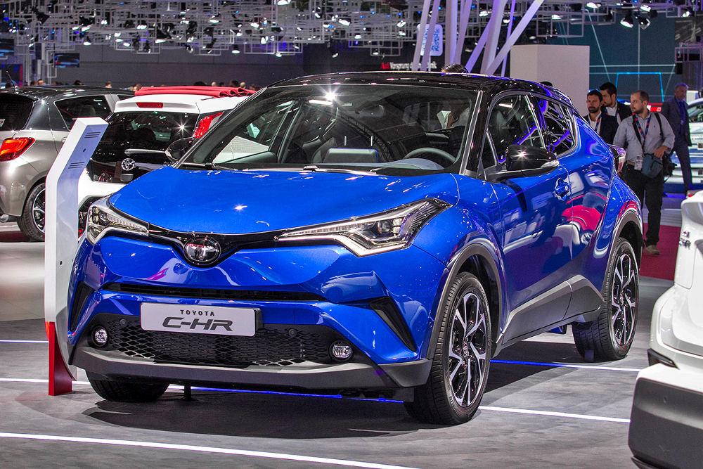 Тойота назвала цены накроссовер C-HR для Австралии
