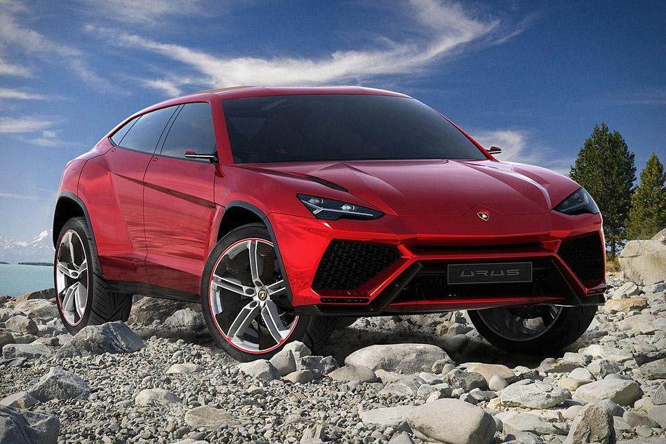 Lamborghini выпустит новый кроссовер Urus уже в 2017г. — Дань моде