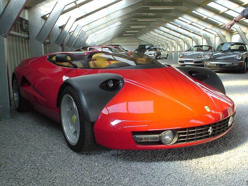 Необычный концепт Ferrari продадут на торгах
