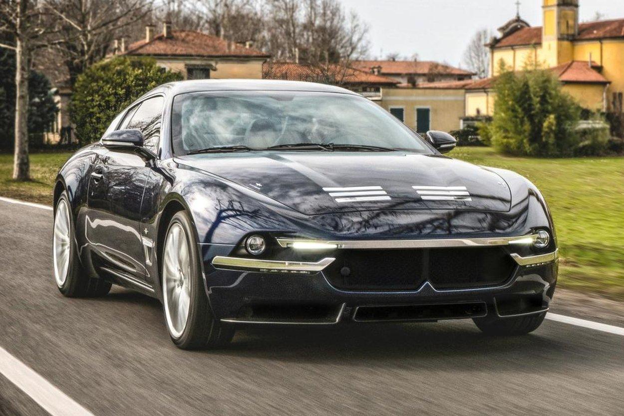 Ателье из Милана подготовило к Женеве роскошное купе на базе Maserati