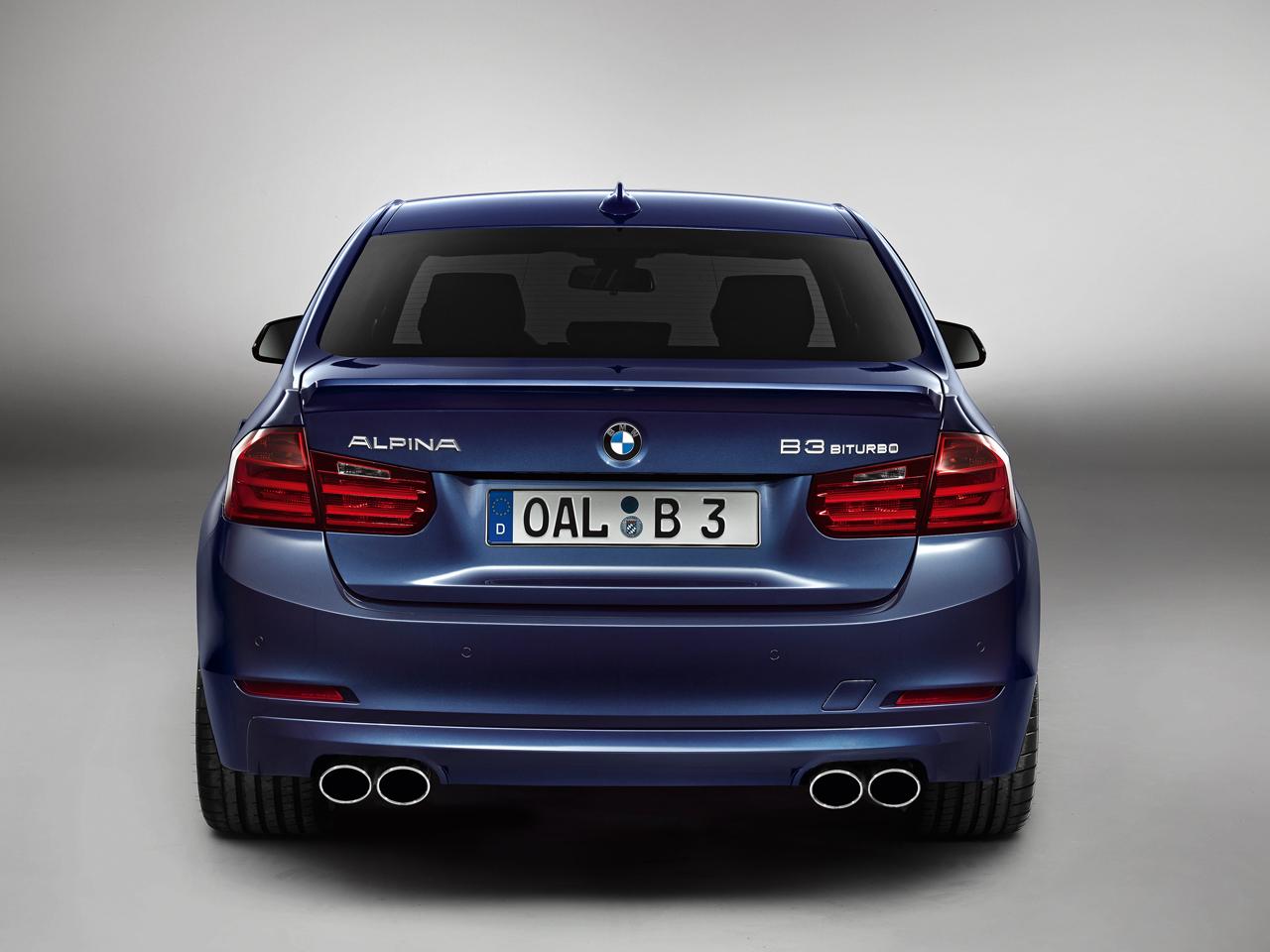 Тюнинг-ателье Alpina улучшило BMW B3 иB4