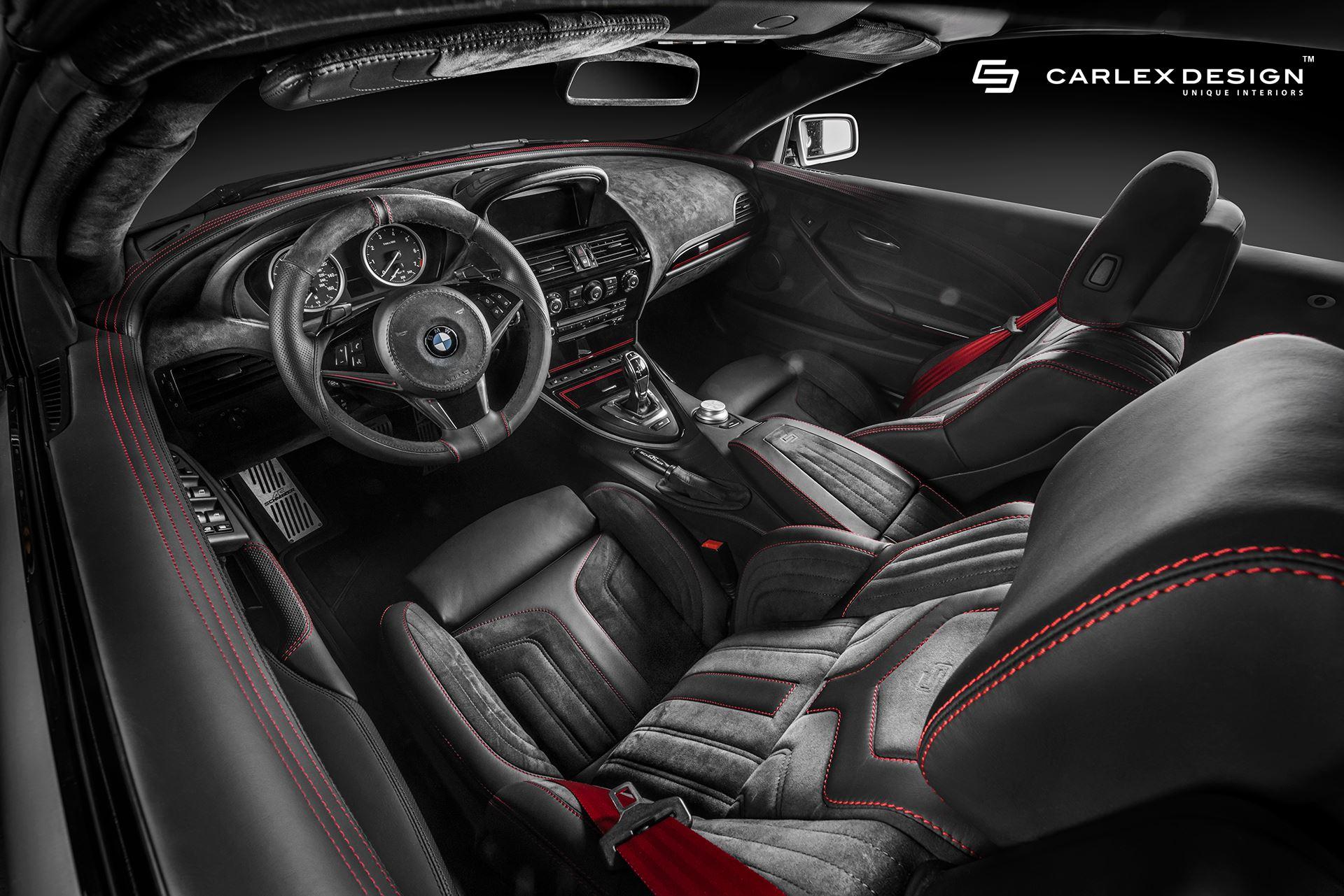 Ателье Carlex Design доработало салон БМВ 6-Series 2-го поколения