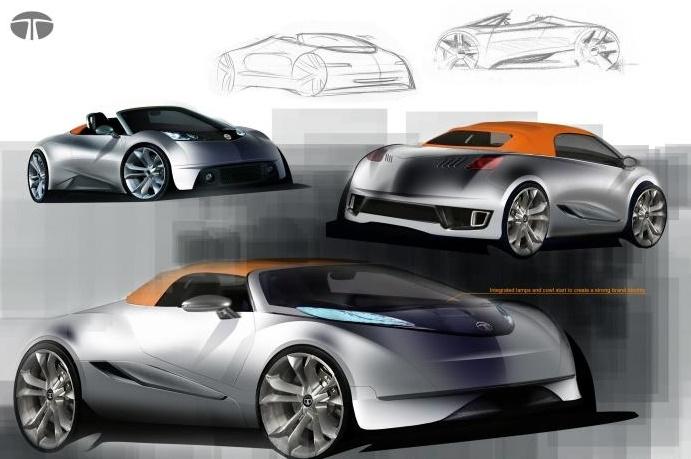 Tata Motors презентует свой первый спорткар на Женевском автосалоне