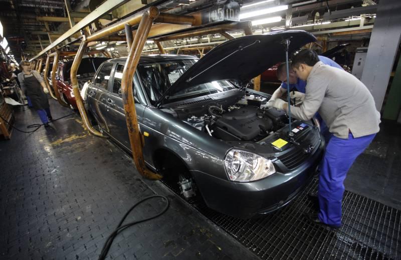 Волжский автомобильный завод открыл в российской столице новый автосалон Лада