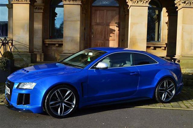 На Женевском автосалоне показали купе Audi RS