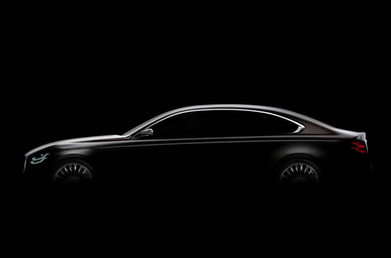 Киа рассекретила дизайн седана Quoris обновленного поколения