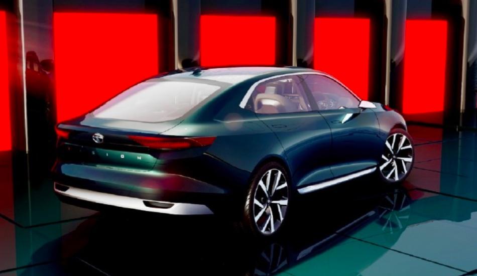 НаЖеневском автомобильном салоне Tata Motors представила концептуальный автомобиль седана EVision