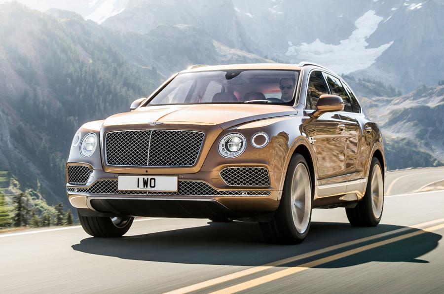 Осенью 2017 года на российском рынке появится дизельный Bentley Bentayga