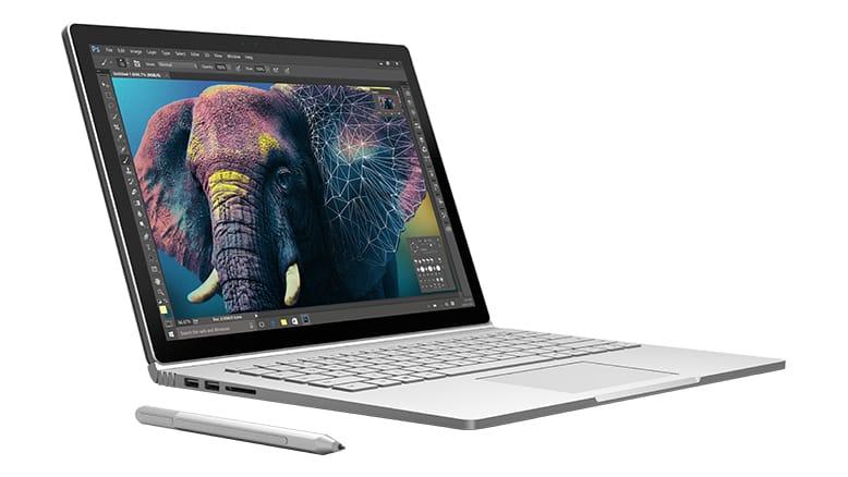 Топовый гибрид Microsoft Surface Book появился впродаже