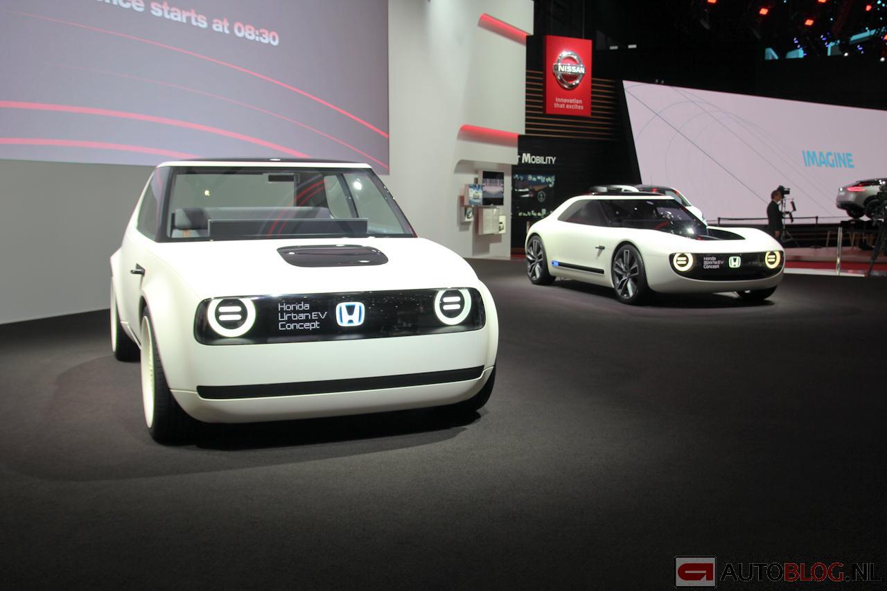Концептуальный автомобиль Хонда UrbanEV будет серийным