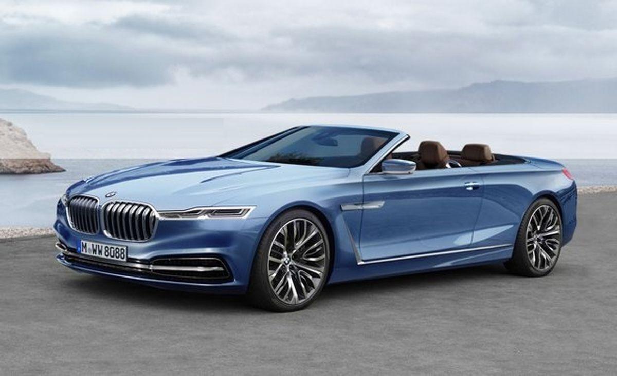 В сети появились рендеры кабриолета BMW 8 Series