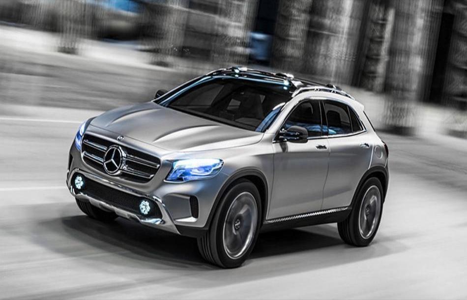 Mercedes GLB 2019 будет сплавом старого инового стилей