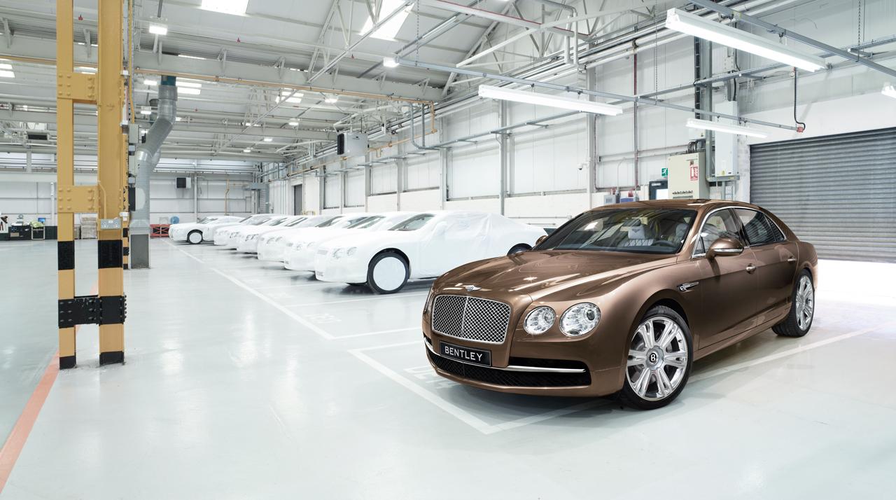 Бентли  может перенести выпуск автомобилей из Англии
