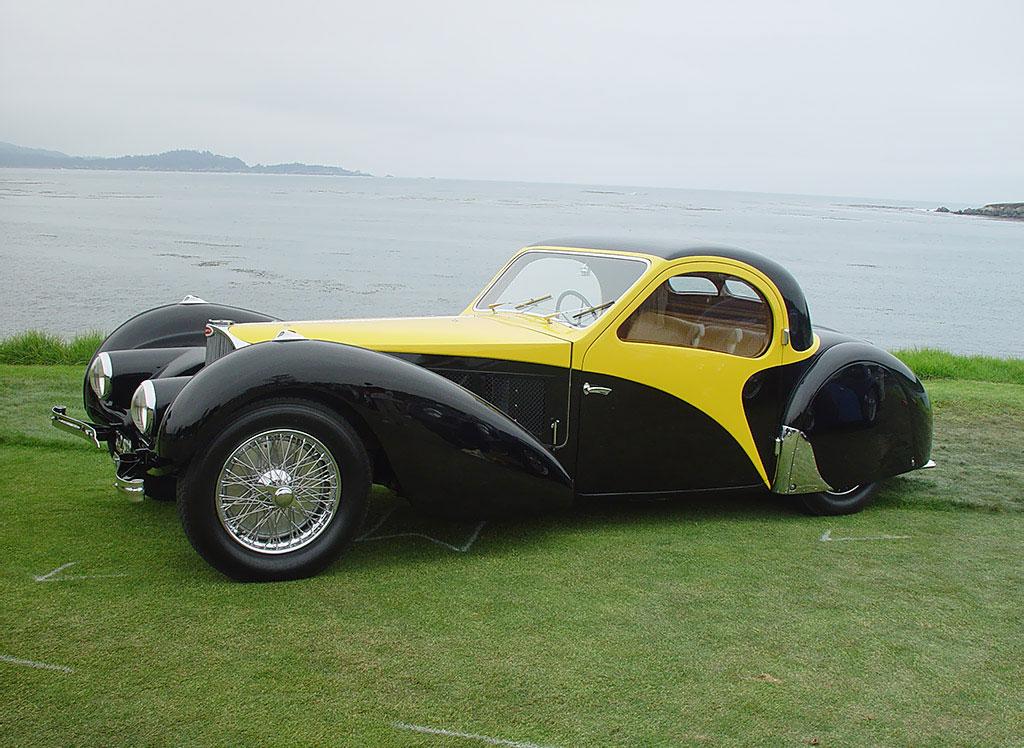 Выпущенный в 1937г. Бугатти Type 57S продан за7 млн