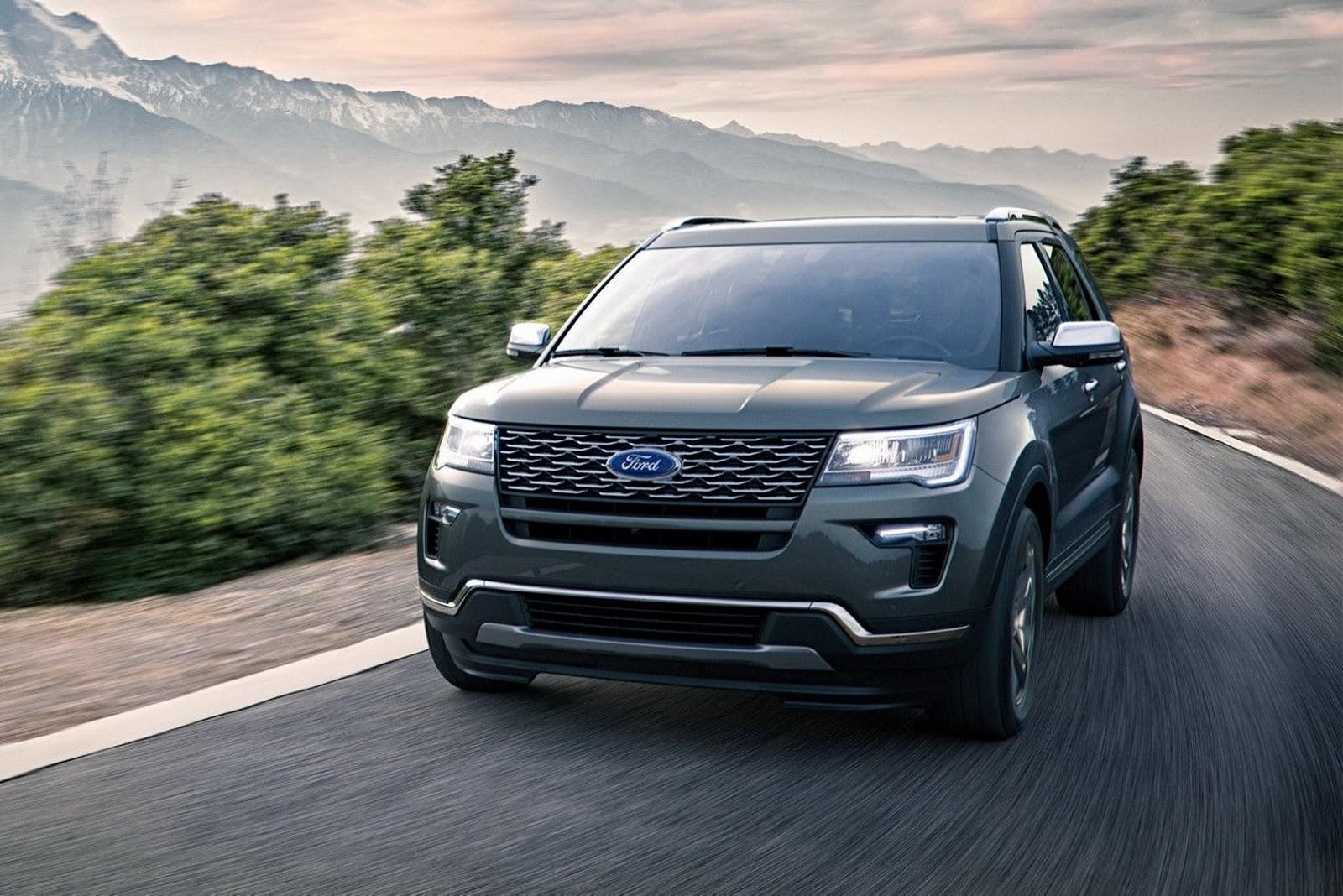 Вовтором квартале 2018 года в России появится новый Ford Explorer