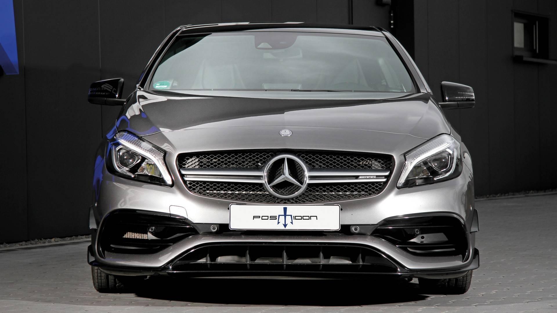 Ателье Posaidon представило 558-сильный хэтчбек Mercedes AMG A45