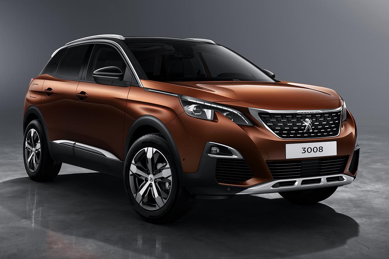 Peugeot (Пежо) 3008 вошел вТОП-10 хитов европейского рынка всередине зимы