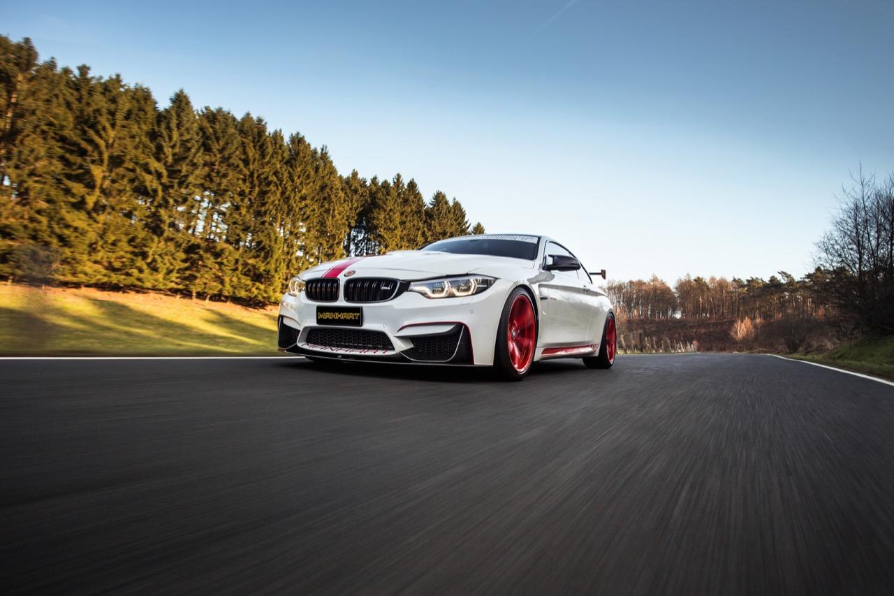Тюнинговое ателье Manhart представило доработанный BMW M4 Coupe