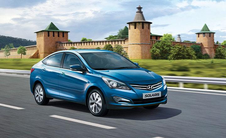 Новосибирцам показали новый Hyundai Solaris