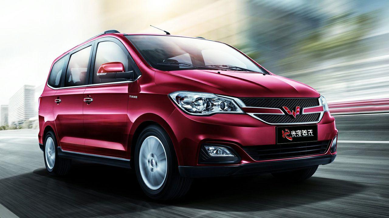Дженерал моторс обновил минивэн Wuling Hongguang S