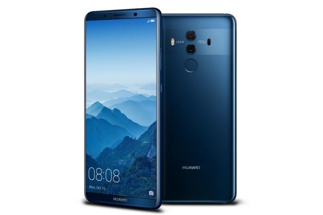 Huawei Mate 20 получит сканер отпечатка пальцев, спрятанный под экраном