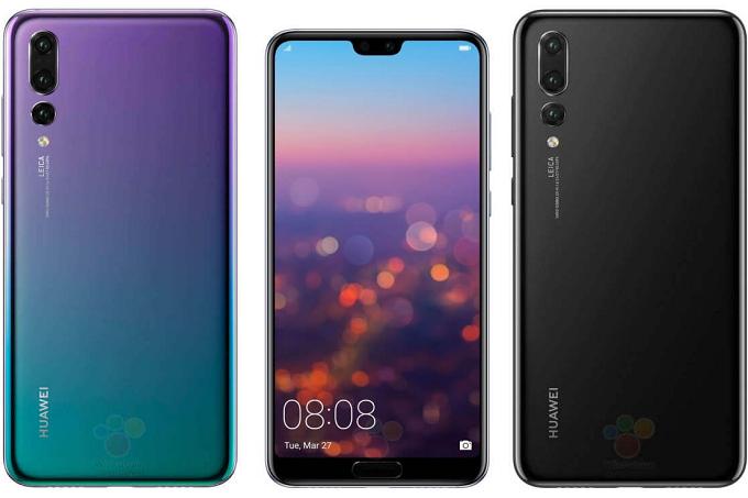 Появились сведения о смартфонах Huawei P20 и P20 Pro