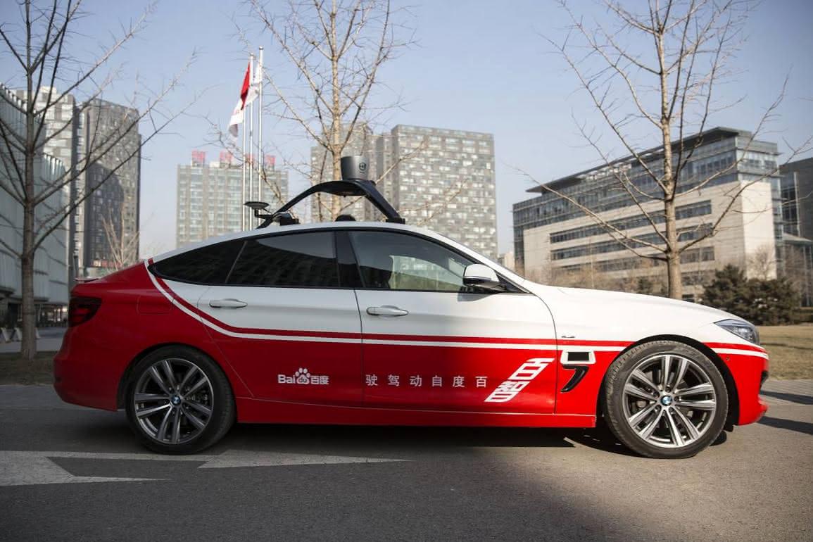 Baidu будет тестировать беспилотники встолице Китая