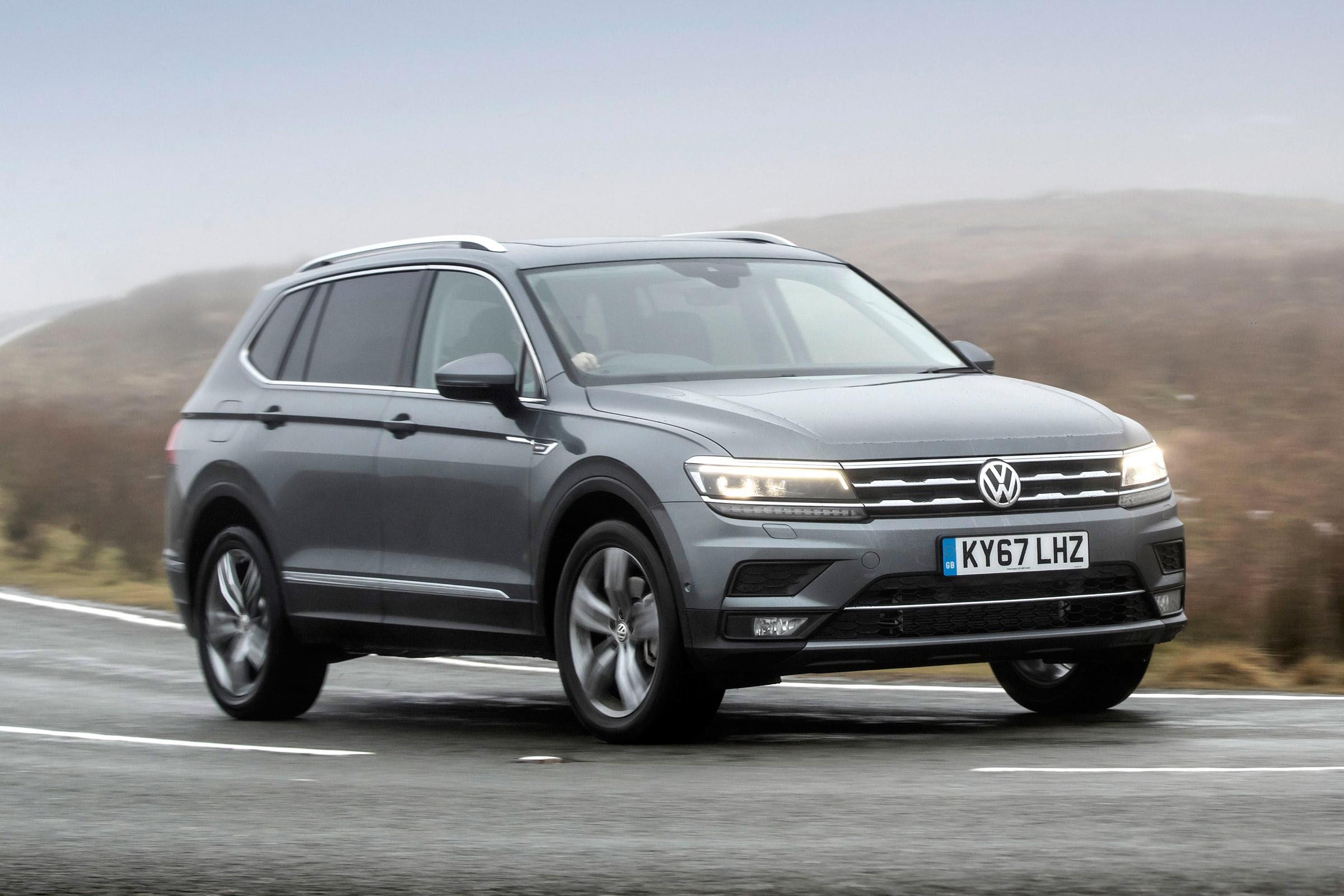 Стали известны параметры семиместного VW Tiguan Allspace