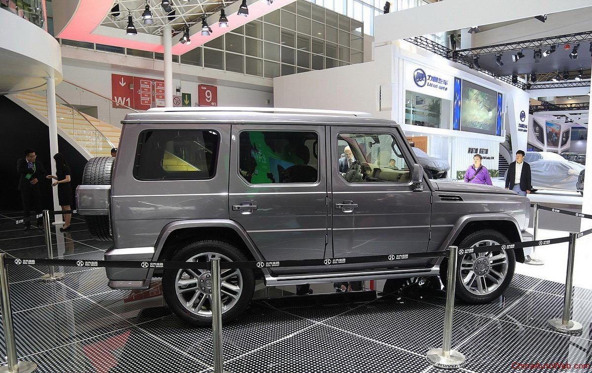 Улучшенный Beijing BJ80: обновленная копия «гелика» покажется встолице Китая