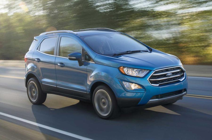 В Сети появились новые снимки обновленного Ford Ecosport