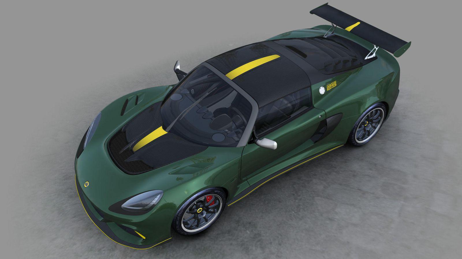 Компания Лотус разработала особый спорткар Exige для коллекционеров