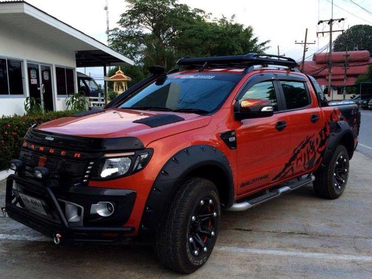 Форд планирует торговать в КНР обновленный тип пикапа Ranger