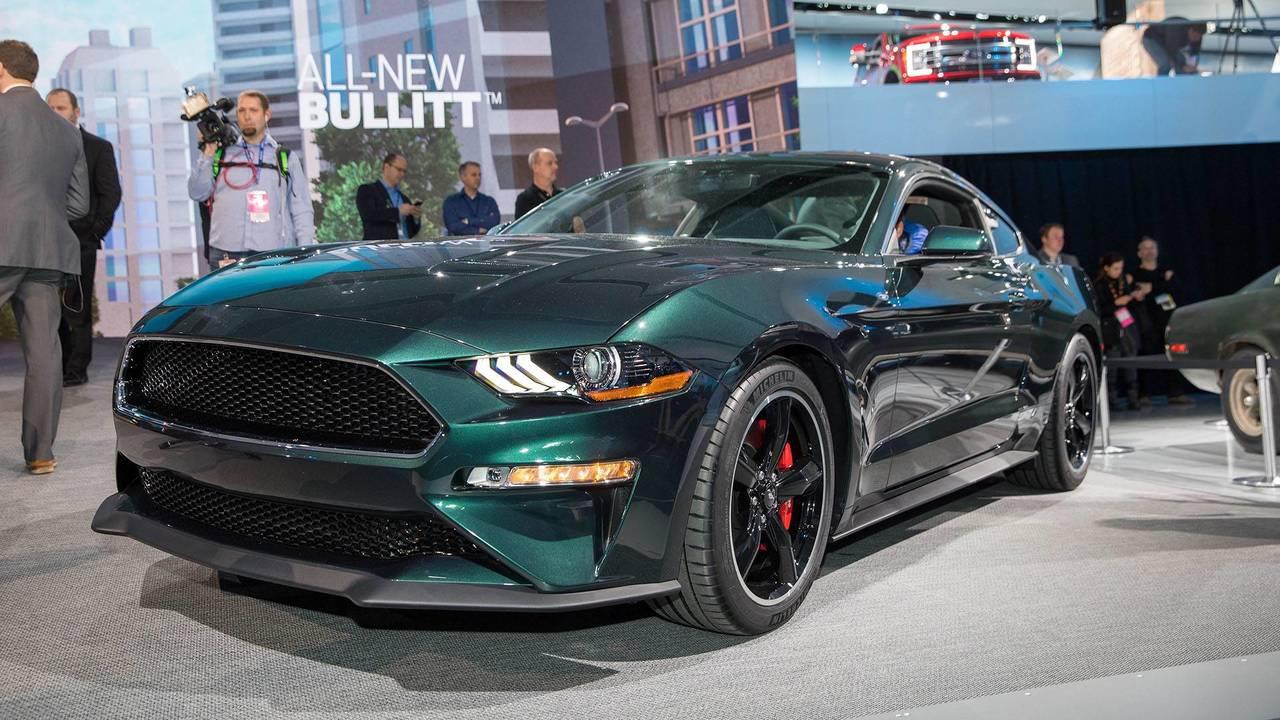 Форд показал собственный спотркар Mustang Bullit вцвете Shadow Black