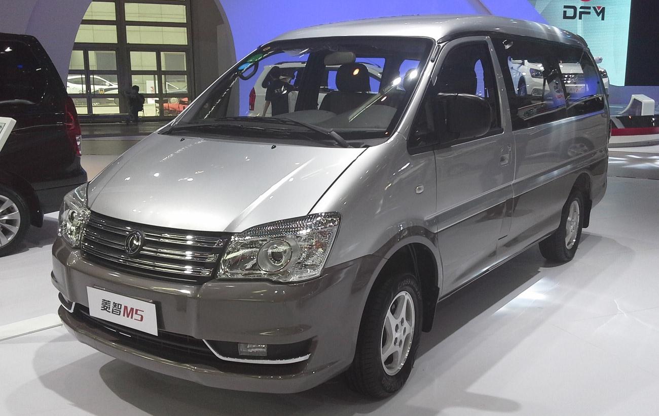 Реинкарнация Митцубиси Delica— стартовали продажи Dongfeng Lingzhi M5L