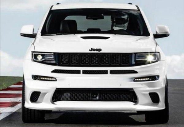 Jeep Grand Cherokee Trackhawk 2018 будет презентован в Нью-Йорке