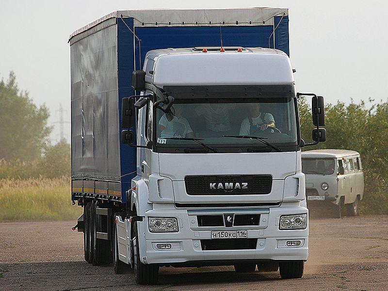 КАМАЗ выводит нарынок новый фургон