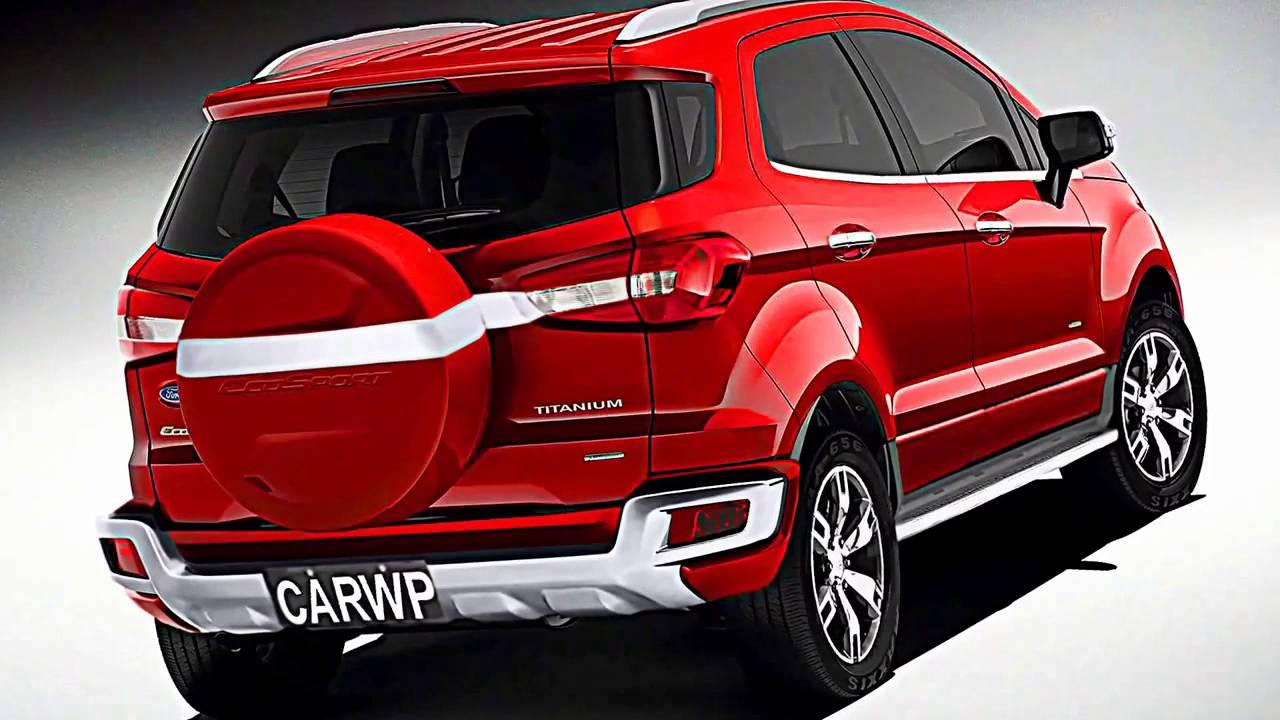 Ford показала обновленный Eco Sport для рынков Китая и РФ