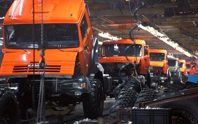 КАМАЗ вIквартале увеличил производство на7%