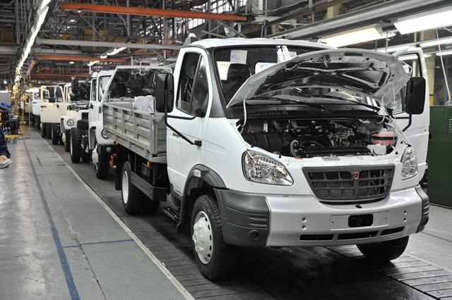 Российский рынок грузовых автомобилей продолжает расти