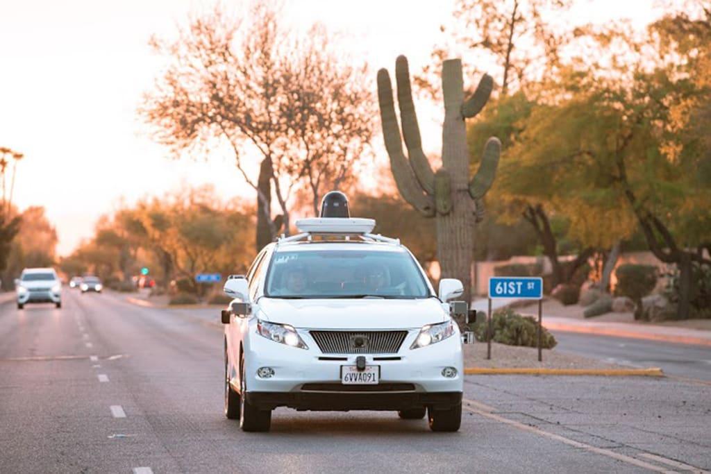 Росавтодор проведет тестовые заезды беспилотных машин на зарытых участках дороги