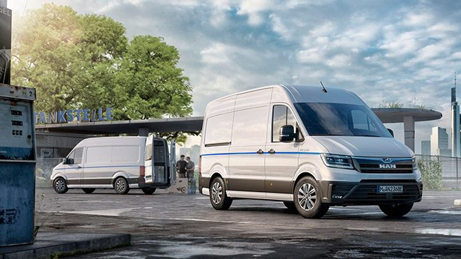 Компания Volkswagen-MAN разработает электрический фургон