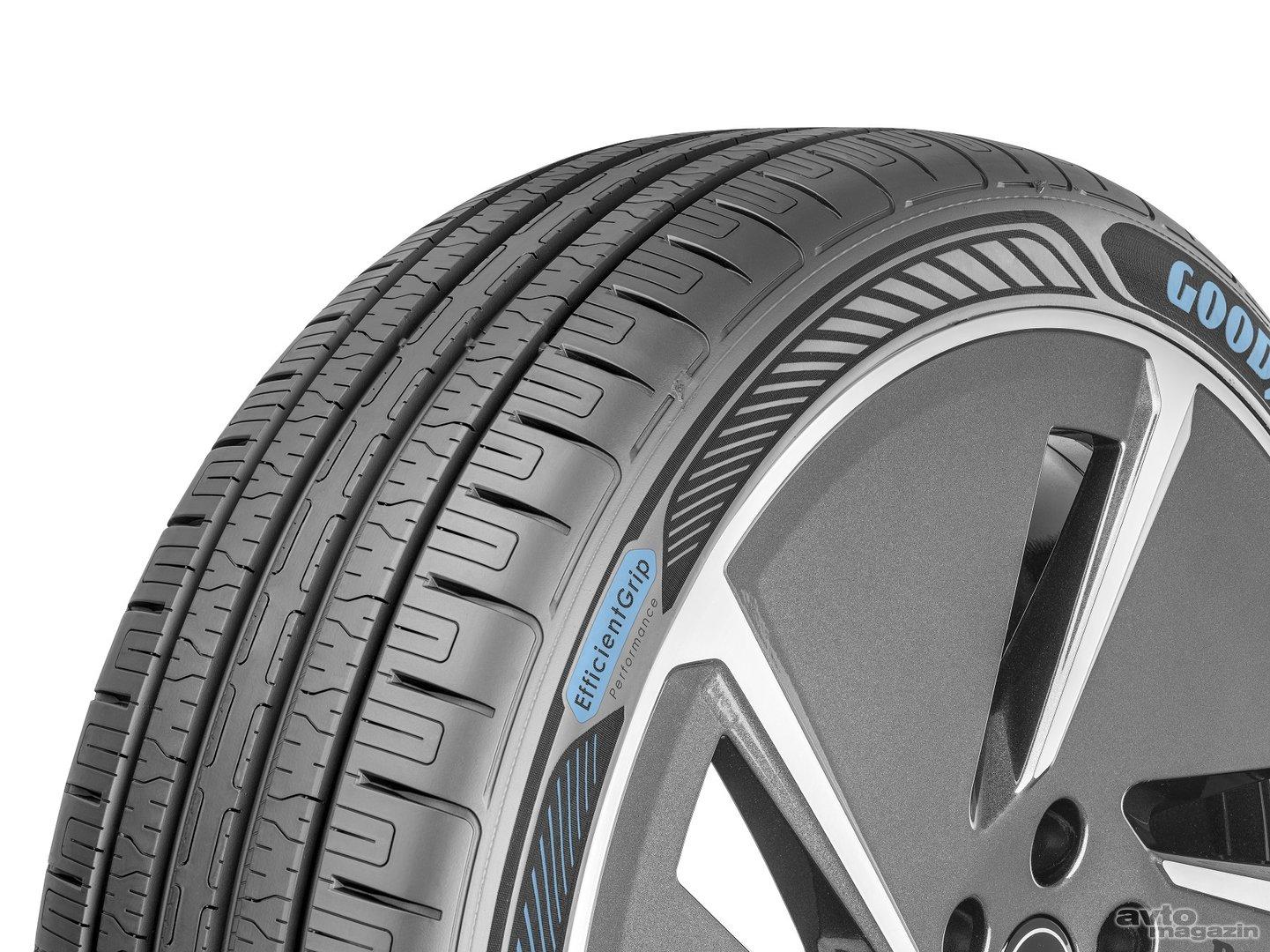 Уникальные электромобильные шины представила компания Goodyear