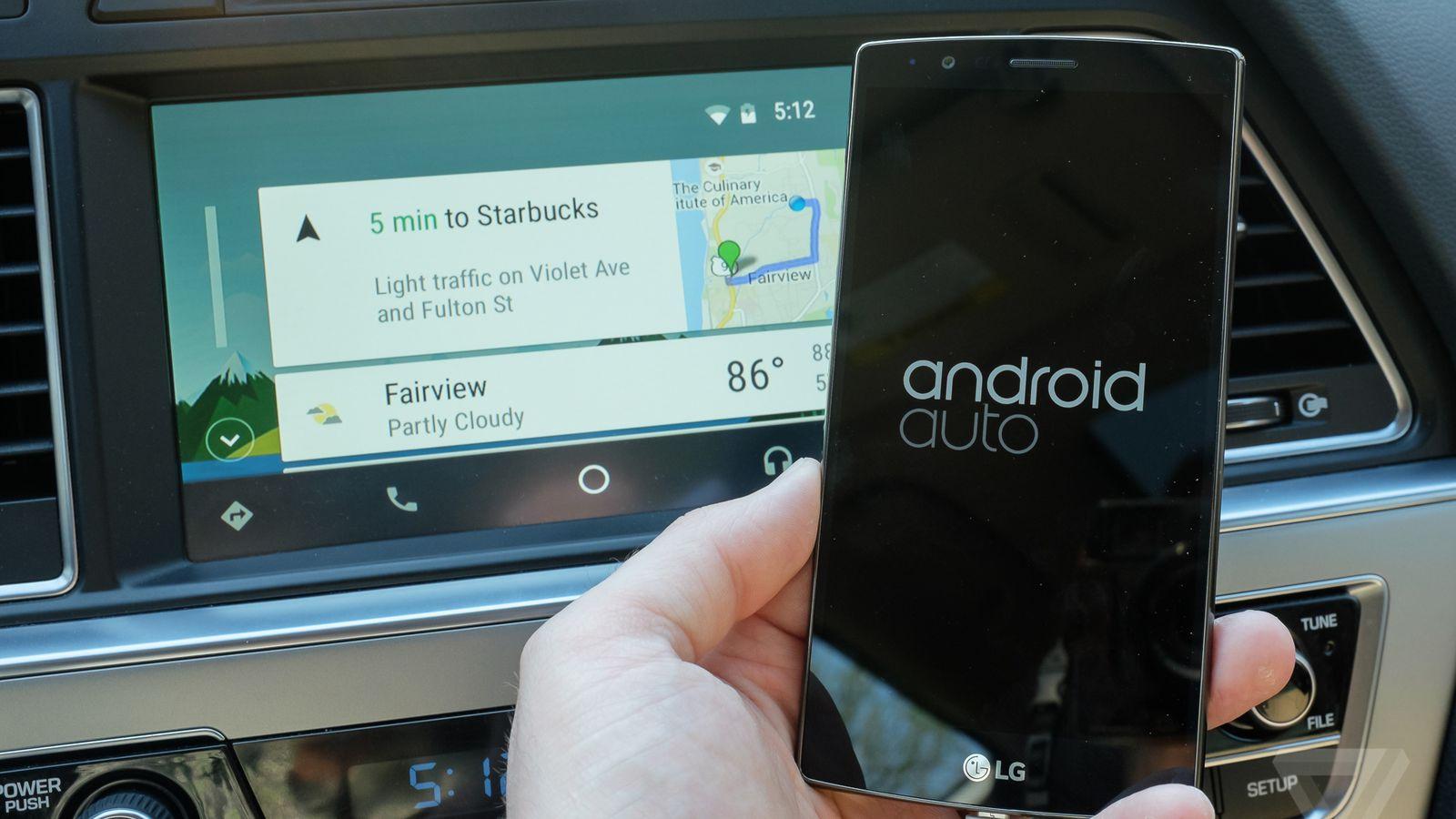 В Тоёта нестанут использовать андроид Auto изсоображений безопасности