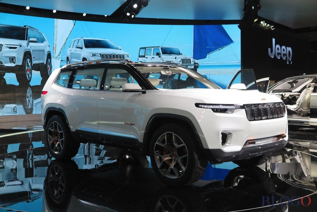 В Шанхае показали новоиспеченный кроссовер Jeep Yuntu