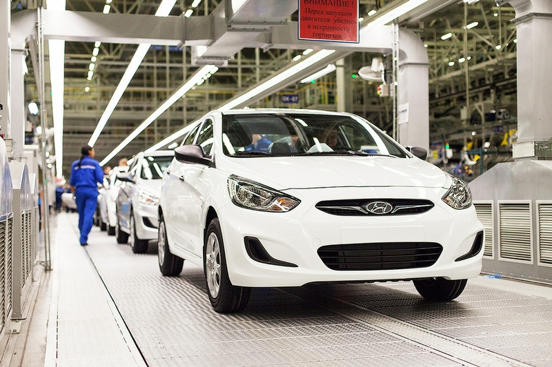 Семь петербургских моделей попали в ТОП-25 самых продаваемых на рынке РФ автомобилей