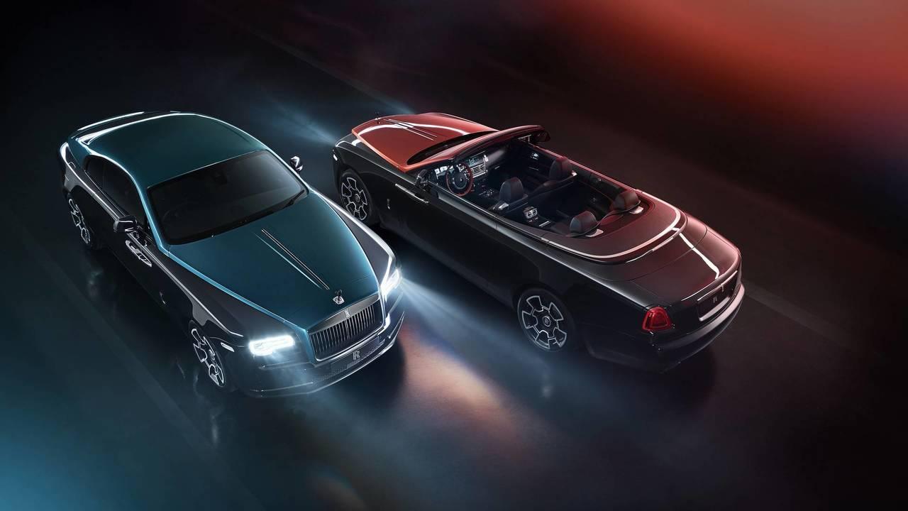 Rolls-Royce презентовал особые версии Wraith иDawn class=