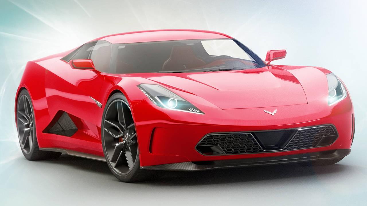 Новый Шевроле Corvette C8: первые полноценные изображения