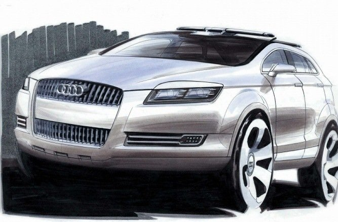Появились новые независимые рендеры кросс-купе Ауди Q9